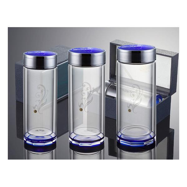 思宝成都水杯定做 蓝水星1#、2#、3#玻璃杯
