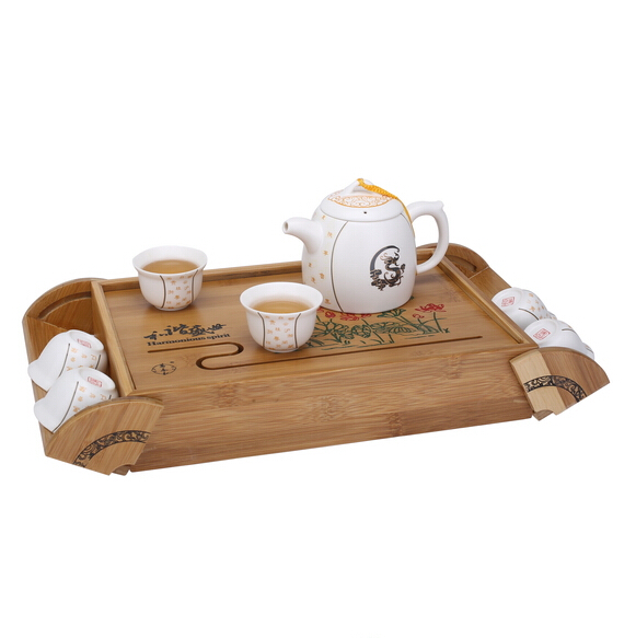 和谐盛世玉脂瓷陶瓷茶具