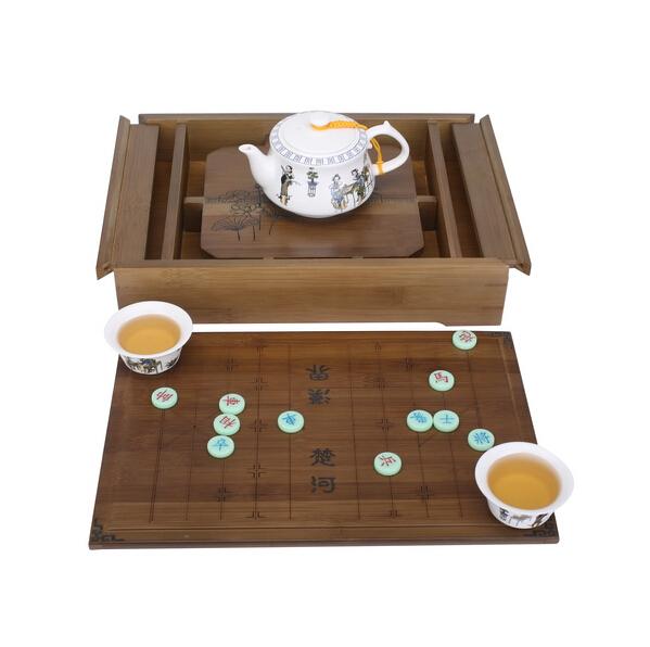 成都万春和茶具代理批发—乐在棋中茶具套装