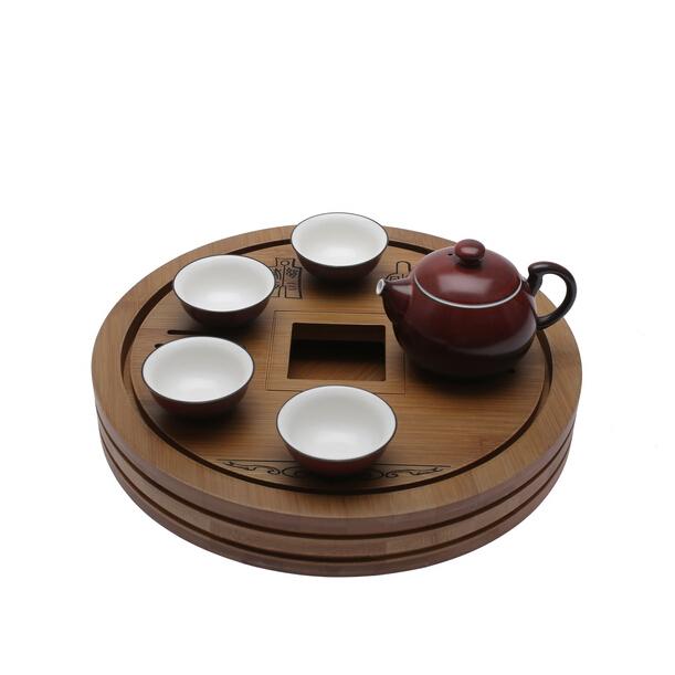 万春和 财运亨通 陶瓷茶具套装