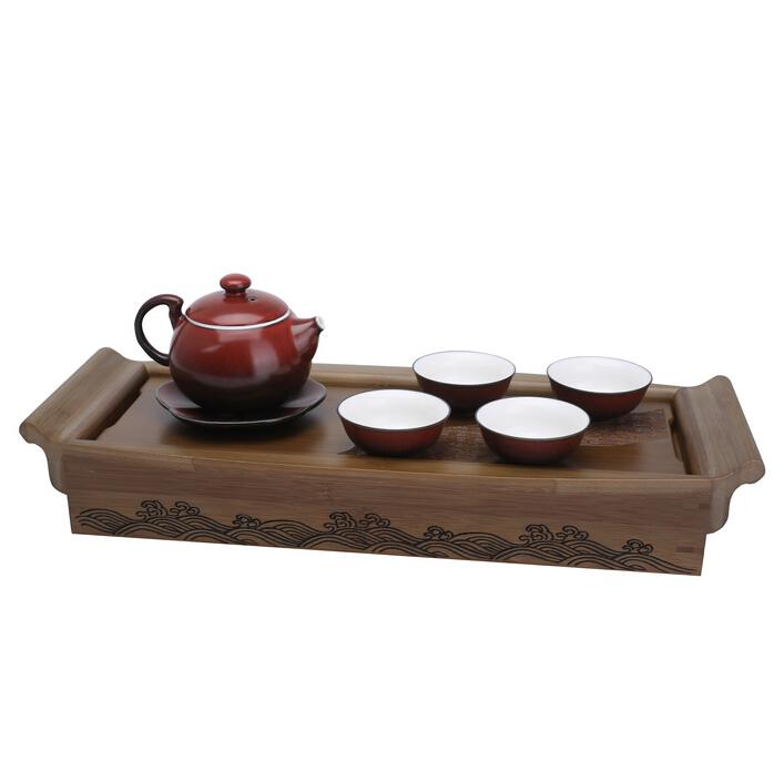 一帆风顺 铁红陶茶具 球王会app网址多少茶具