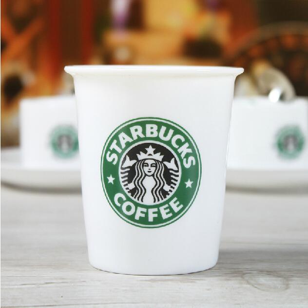 星巴克陶瓷纸杯