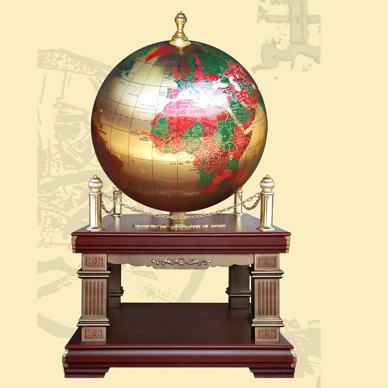 纯铜雕刻地球仪开业庆典球王会app网址多少 校庆球王会app网址多少