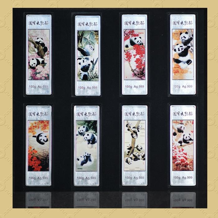 熊猫银条25g*8条装