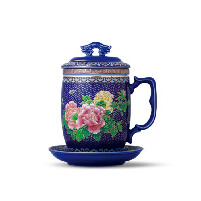《富贵如意》陶瓷茶杯