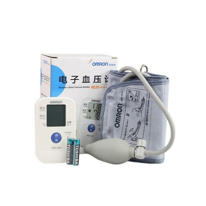 欧姆龙上臂式半自动电子血压计HEM-4030