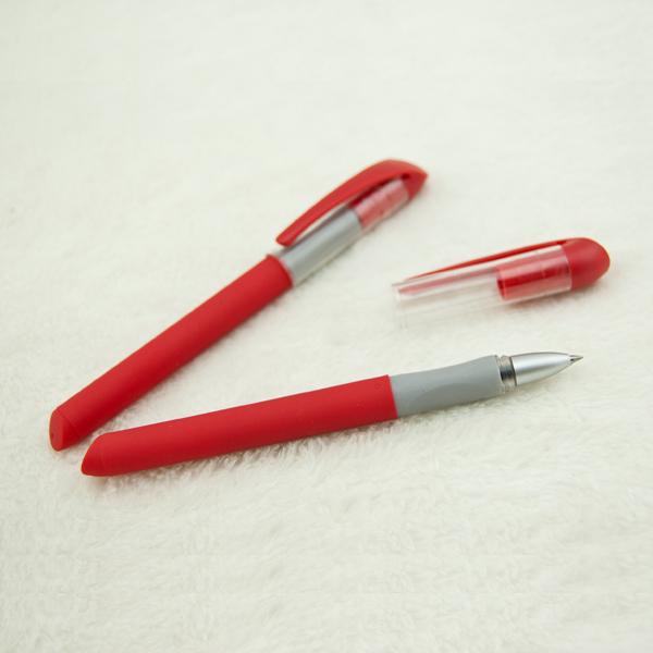 红色笔杆广告笔