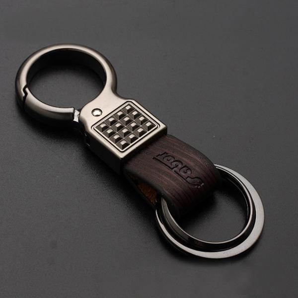 黑镍拉丝钥匙扣