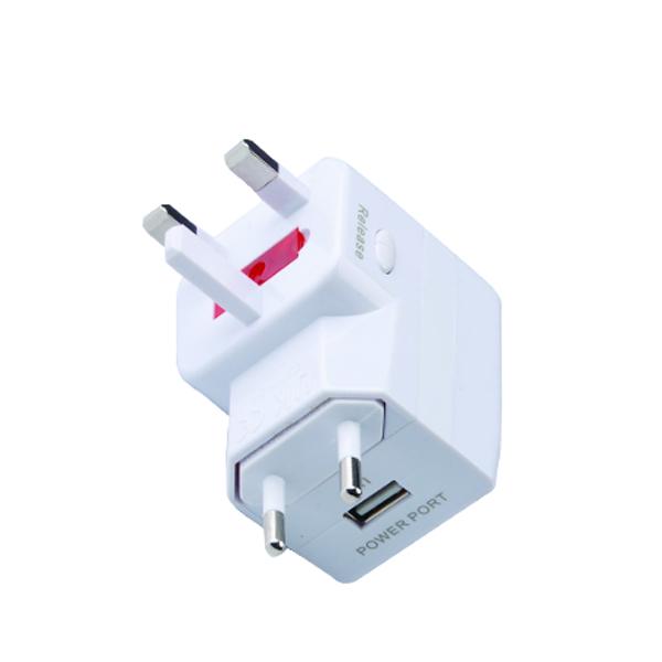 全球通带USB转换插座